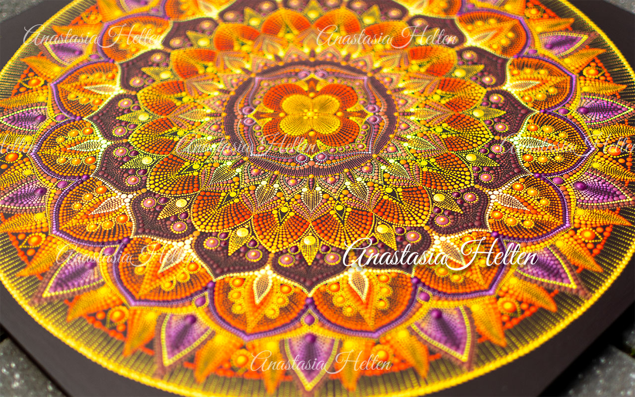 Original mandala painting